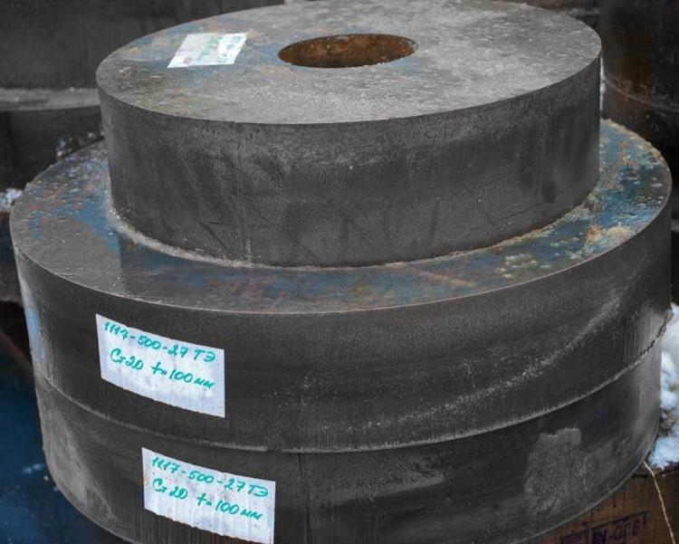 002 Диск из стали 3 толщиной 100 мм