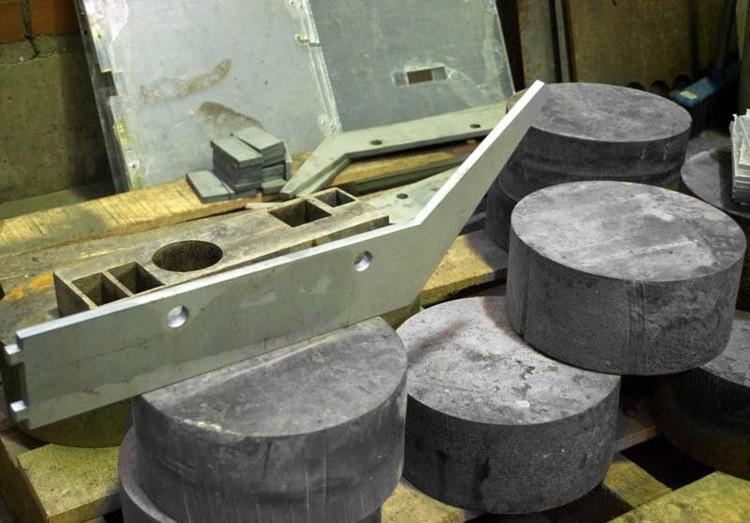 004 Кронштейн из нержавеющей стали, диски из стали 3